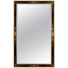 LaBarge Hand-Painted Beveled Wall Mirror