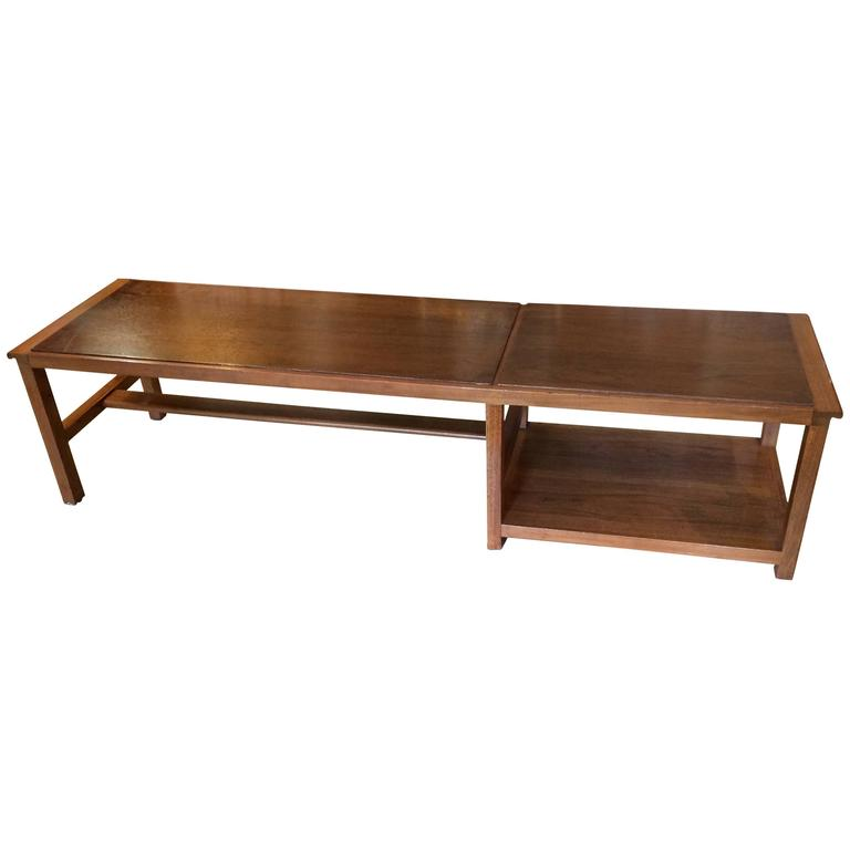 Long Low Coffee Table: Long Low And Sleek Dunbar Coffee Table At 1stdibs