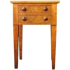 Two-Drawer Stand, circa 1830, American