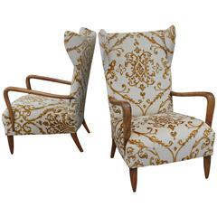 Paolo Buffa 1950s Italian Chairs