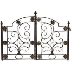 Antique Fine Little Interior Gate or Bed Headboard