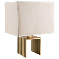 Italian 1970s Brass Table Lamp by F.lli Martini