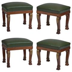 Four Banquettes William IV Style