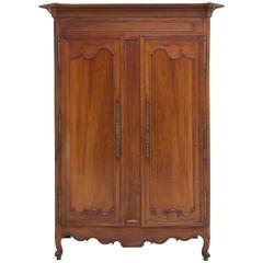 antique louis xvi pays de la loire armoire in cherry circa 1800 antique english country armoire circa 1830s