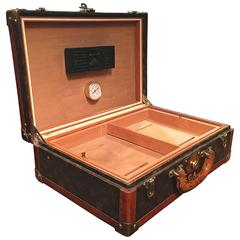 Louis Vuitton Cased Travelling Cigar Humidor