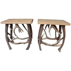 Stag Antler Tables