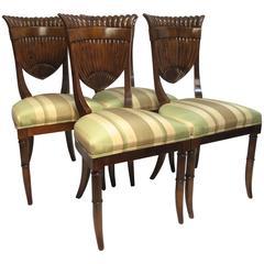 Italian Biedermeier Style Chairs
