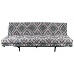 Marco Zanuso Sofa Upholstered in Marvic Fabric