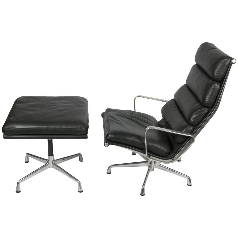 this eames soft pad lounge chair and ottoman is no longer available