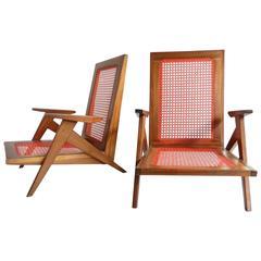 "Marvelous ""Veranda"" Lounge Chairs"