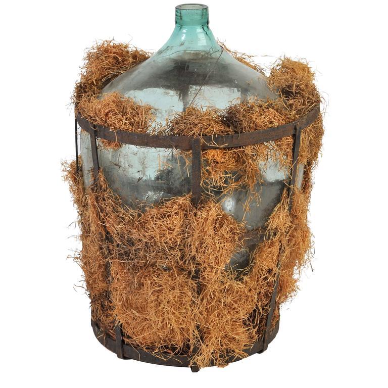 Early 19th Century Demijohn Glass Bottles