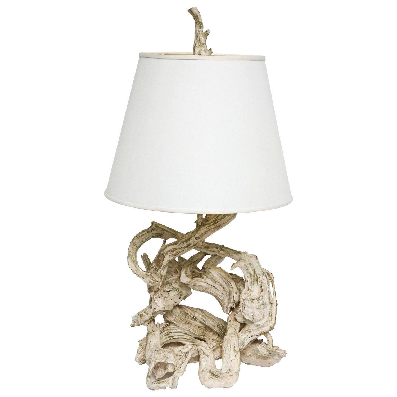 1950s american driftwood lamp for sale at 1stdibs. Black Bedroom Furniture Sets. Home Design Ideas