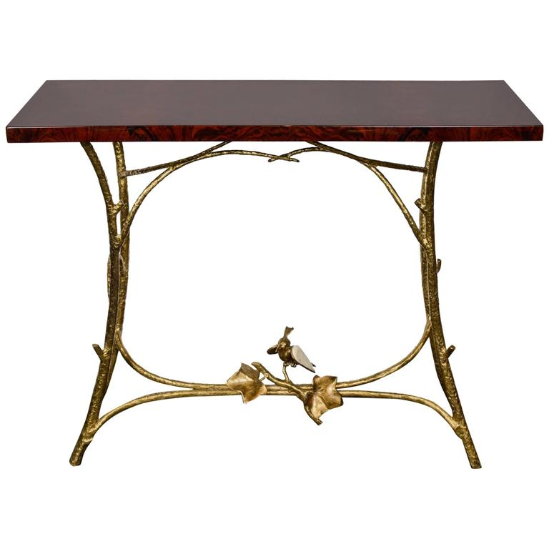 One of a Kind Console by Henri Fernandez
