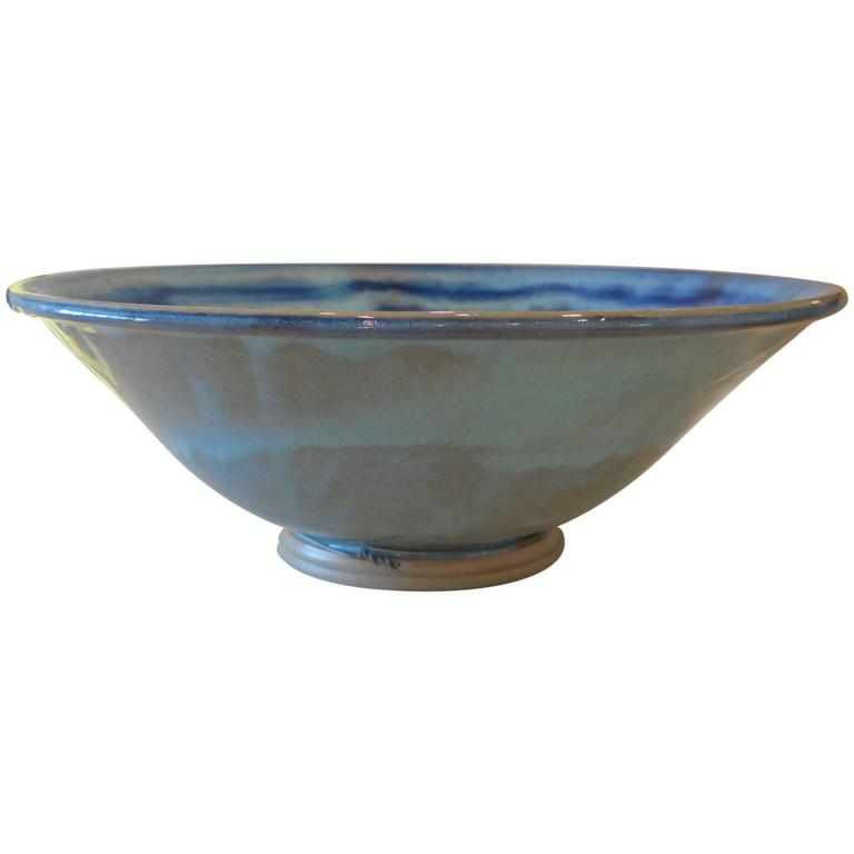 Charlie Parker Blue Ceramic Bowl 1