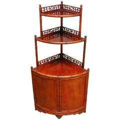Chinese Huanghuali Etagere Cabinet
