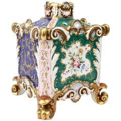 Fine 19th Century Covered Jacob Petit Old Paris Porcelain Potpourri Jar