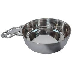 Classic Tiffany Sterling Silver Porringer