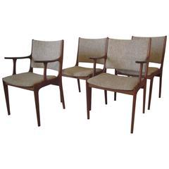 Johannes Andersen Uldum Danish Dining Chairs