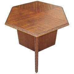 Frank Lloyd Wright Side Table for Heritage Henredon, 1955