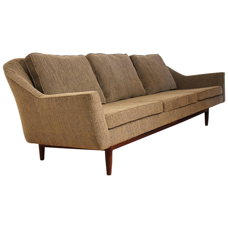 Jens risom floating bench for sale at 1stdibs - Jens Risom Sofa Model 2516 For Jens Risom Design Inc For Sale At 1stdibs