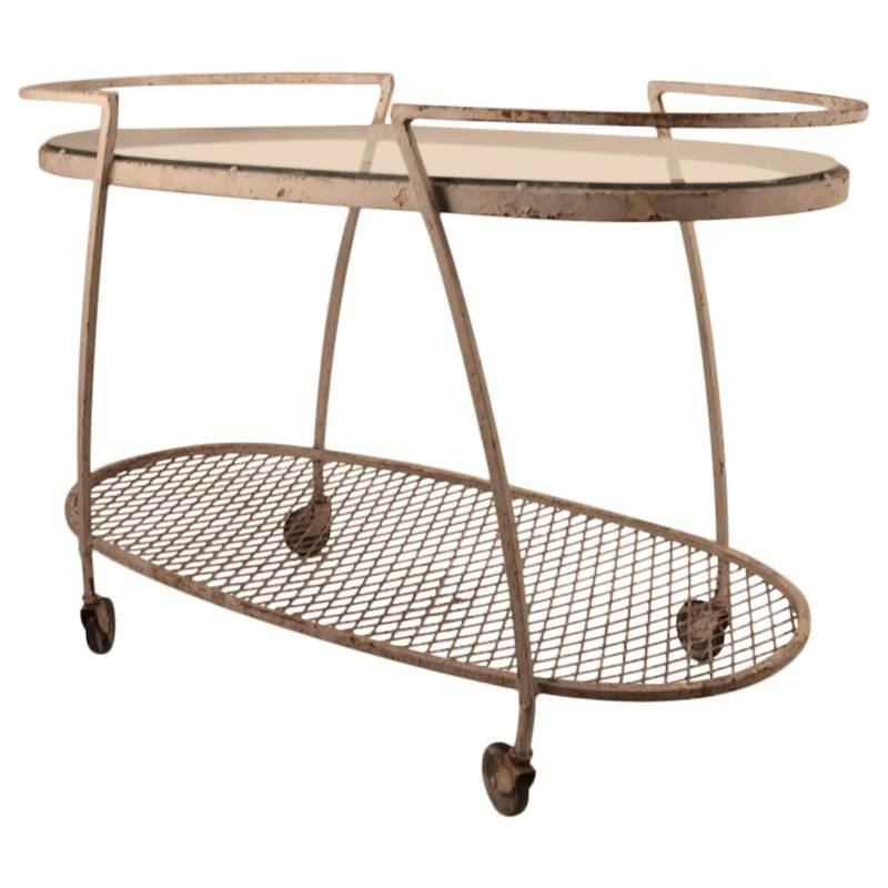 Woodard Bar Cart