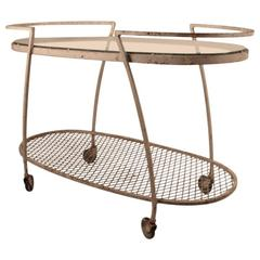 Woodard Bar Cart