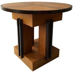 "Rare Low Table ""Model #325"" by Piet Izeren Produced De Genneper Molen"