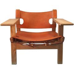 Spanish Chair Danish Design Icon by Børge Mogensen