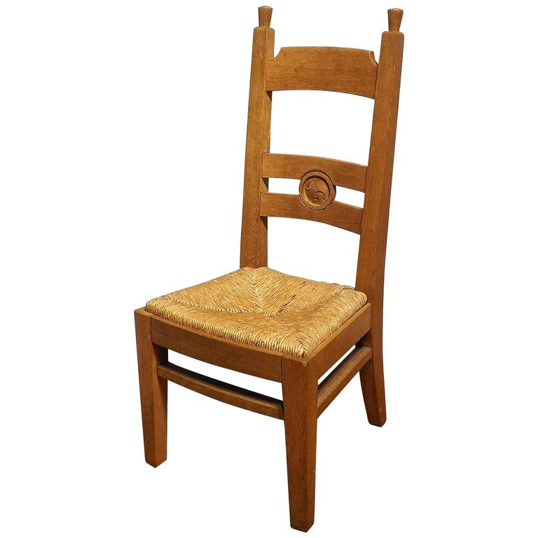 Collection Of Dutch Arts And Crafts Church Chairs Alpha