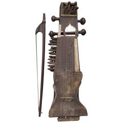 Ancient Sarangi, Indian Music Instrument