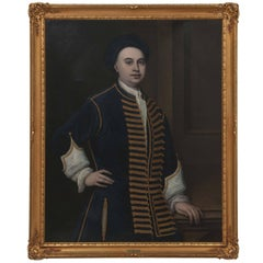 British School Portrait of a Gentleman