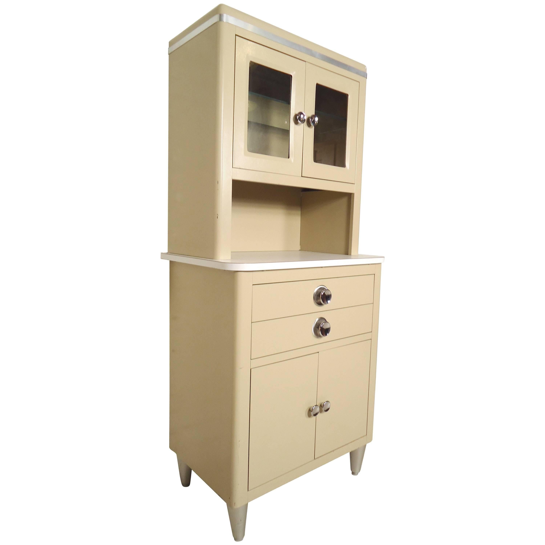Tall Vintage Medical Cabinet For Sale At 1stdibs