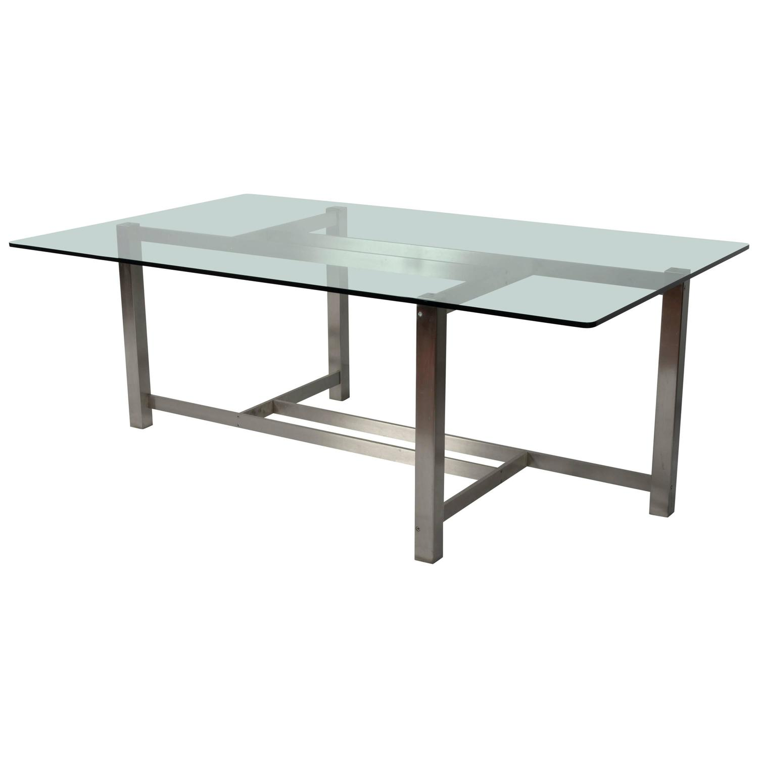 Forma Nova Double Sided Desk or Center Table For Sale at