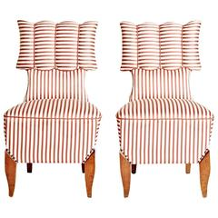 1920's Berlin Side Chairs by August Endell