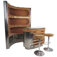 Italian Modern Freestanding Bar