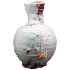 Contemporary Ceramic Memory Drift Jar by Gareth Mason