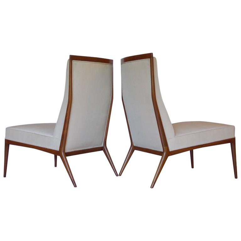Paul McCobb Slipper Chairs for Directional