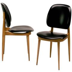 Pair of Pierre Guariche Side Chairs
