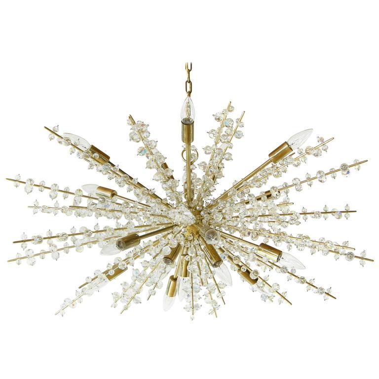 Bakalowits Crystal Sputnik Chandelier For Sale At 1stdibs