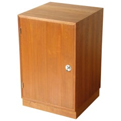 Finn Juhl Teak Cresco Cube Storage Cabinet for France and Sons