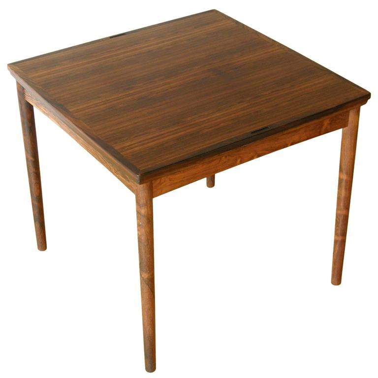 Poul hundevad dining game table at 1stdibs for Dining room game table
