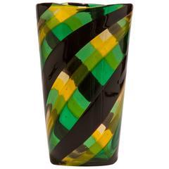 Fasce Ritorte Vase by Fulvio Bianconi for Venini
