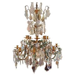 Baccarat Style Crystal Chandelier