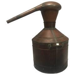 Prohibition Era Copper Whisky Still
