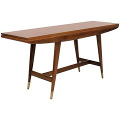 Gio Ponti Flip-Top Console or Table