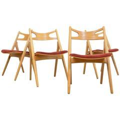 Sawbuck Chairs Hans J. Wegner