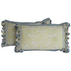 Pair of Fortuny Pillows by Mary Jane McCarty Design
