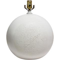 Large Ceramic Orb Table Lamp