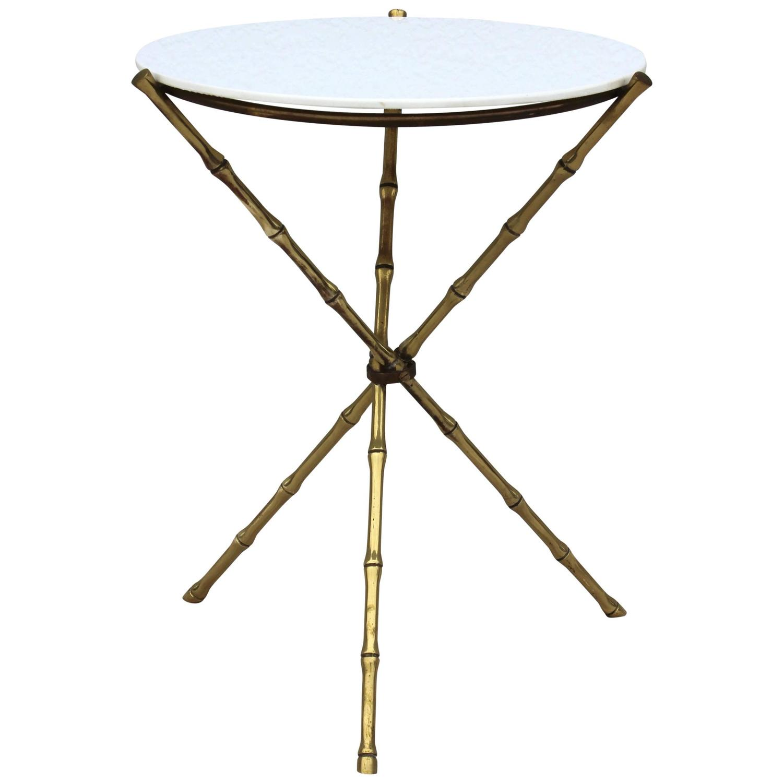 Tripod Side Table By T H Robsjohn
