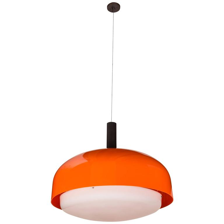 "Monumental ""KD 62"" Ceiling Light by Eugenio Gentile Tedeschi for Kartell 1"